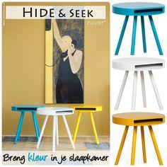 Bijzettafel Hide En Seek.Zuiver Nachttafeltje Fresh Yellow Swiss Sense Style Your Home