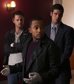 CSI New York - the boys.....  All three are great at their jobs!