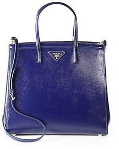 Prada Saffiano Vernice Slim Top Handle Bag Prada