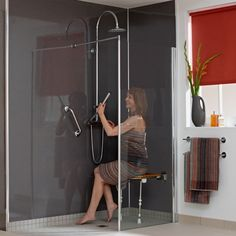 Wet Room Showers for the Disabled | Premier Care in Bathing