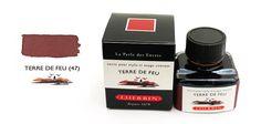 J. Herbin Terre de Feu (Tierra Del Fuego or Land of Fire) Bottled Ink 30 ml.