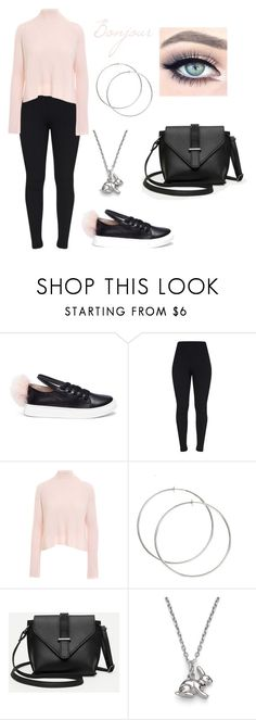 """""""Untitled #331"""" by marie-g05 ❤ liked on Polyvore featuring Minna Parikka, Minnie Rose and Harry Rocks"""