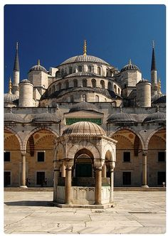 Sultan Ahmed Mosque, Istanbul | Incredible Pictures :::: PINTEREST.COM christiancross ::::