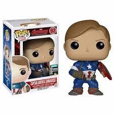Buy Marvel Avengers Age Of Ultron Unmasked Captain America SDCC Exclusive Funko Pop! Vinyl from Pop In A Box UK, the home of Funko Pop Vinyl subscriptions and more. Funko Pop Marvel, Marvel Avengers, Marvel Comics, San Diego Comic Con, Age Of Ultron, Star Lord, Iron Man, Pop Figurine, Univers Dc