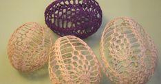 Blog o szyciu, szydełkowe ozdoby, dekorowanie domu, dekorowanie ogrodu Easter Crochet, Easter Eggs, Spring, Blog, Kids, Party, Amigurumi, Crochet Angels, Creative Crafts