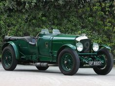 1930 Bentley Speed Six Roadster **LOVE**WANT**