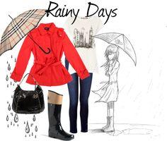 """Rainy Days"" by camilovesfashion on Polyvore"