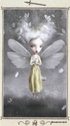 Page of Swords - Nicoletta Ceccoli Tarot by Nicoletta Ceccoli