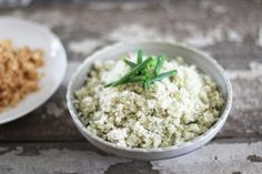 Simply Cauliflower Rice | recipe on nutritionstripped.com