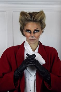 Love this fox costume- almost completely created by the hair and make-up styles. Make-up and hair by Katie Nash Beauty