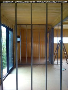 Container House in Muntanyola (Barcelona). Nova, Building A Container Home, Container Architecture, Construction Process, Barcelona, David, House, Furniture, Home Decor