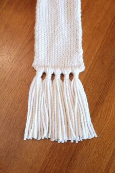 add tassels to a scarf   what i do
