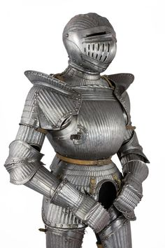 A FLUETD FULL ARMOUR IN THE SOUTH GERMAN 'MAXIMILIAN' STYLE OF CIRCA 1520-30, second half of the 19th century for sale…