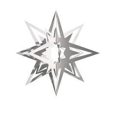 North Star : une grande étoile blanche en papier pour mettre un peu de Scandinavie dans vos décorations de Noël - design : Anni & Bent Knuds...