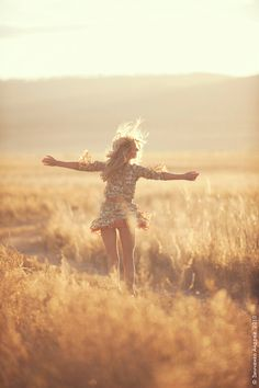 Self Love Feels Like: You're twirling in the soft sunset #selflove #embodied #bodylove