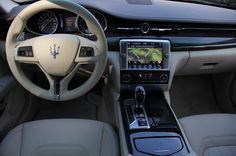 2014 Maserati Quattroporte interior earnhardtmaserati.com My Dream Car, Dream Cars, Dream Auto, Lamborghini, Bugatti, Car Interior Design, Truck Interior, Quattroporte Maserati, Automobile