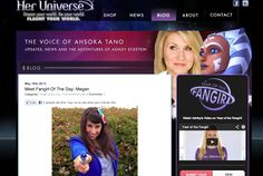 The Nerdy Girlie: Her Universe Fan Girl of the Day!