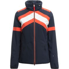 Bogner - Fire+Ice Danea Down Jacket - Women's Navy Women, Jackets For Women, Ski Jackets, Outdoor Gear, Motorcycle Jacket, Skiing, Adidas Jacket, Swiss Alps, Ski