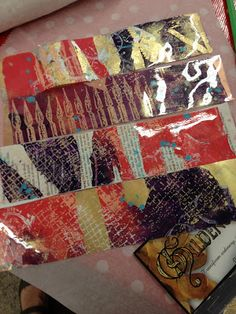 Gelli Printing will be held one more time. October 9, from 10 - 2,will be the last and final offering of Gelli Printing. If you want to sign up be sure to email Celeste. To guarantee a spot payment must be received. Class size is limited.   There might even be an Gelli Printing 2 class in January.  Look what youwill learn in that class.