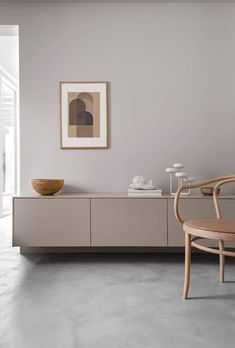 Beautifully customized Besta cabinet from IKEA - Wohnzimmer ideen Interior Wall Colors, Interior Walls, Home Interior, Interior Design Living Room, Interior Styling, Living Room Decor, Living Spaces, White Interior Design, Living Rooms