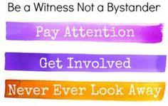 The key to stopping bullying is changing bystanders into witnesses who stand up for the bullied target Stop Bullying Now, Anti Bullying, Social Work Offices, I Miss You Quotes For Him, Workplace Bullying, Conflict Resolution, School Counseling, Safety Tips, Social Skills