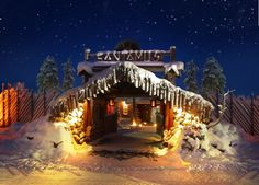 Santamus Entrance, Lapland Finland