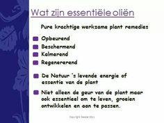 Essentiële oliën 1