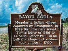 Bayou Goula Location: LA. 1 between Plaquemine and White Castle, LA. in Iberville Parish.