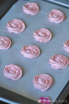 Creative Juice: {RECIPE} raspberry & lemon meringues