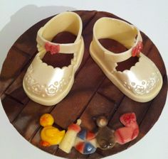 Vera Miklas modelling chocolate ideal for making babies boots. www.veramiklas.com Modeling Chocolate, Belgian Chocolate, Baby Shoes, Babies, Boots, Crotch Boots, Babys, Baby Boy Shoes, Baby