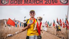 """An ultra-marathon runner is finally able to return to Edinburgh with a dog who """"adopted"""" him during a race in China."""