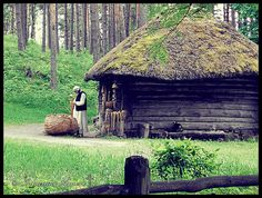 Latvian beauty 3 by InnamorAmento, via Flickr #Latvia #ethnographic #architecture