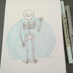 Inktober day 17. Graceful #inktober2017 #zensations #inktober #drawing #artwork #instaart #illustration #ink #sketching #sketchdrawing #hellowinci