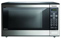 Panasonic Countertop/Built-In Microwave with Inverter Technology 1.2 Cu. Feet, Stainless Steel NN-SN643S