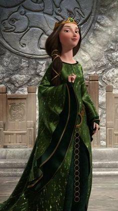 Queen Elinor from Disney Pixar's Brave