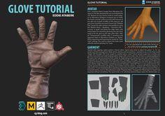 ArtStation - Glove Tutorial, Eddie Ataberk