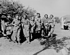 """Nurses of a field hospital who arrived in France via England and Egypt after three years service."" Parker, August 12, 1944. 112-SGA-44-10842 - My Mother was a Army Nurse who served during WW II"