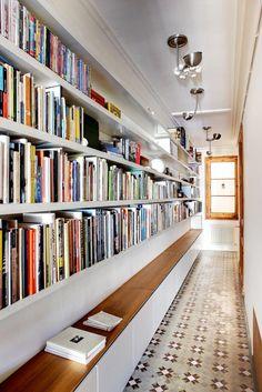Die Einrichtungsideen Für Hausbibliothek, Die Wir Ihnen Hier Gerne Zeigen  Möchten, Sollen Ihnen Als Inspiration Und Anregung Dienen. Eine Ganze Wand