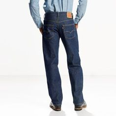 Levi's 550 Relaxed Fit Jeans (Big & Tall) - Men's 54x30