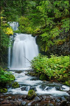 Twin Falls, Lewis River - Twin Falls, Lewis River By Greg Vaughn Gifford Pinchot National Forest, Washington - Famous Waterfalls, Beautiful Waterfalls, Life Is An Adventure, Forest Adventure, Adventure Kids, Adventure Quotes, Adventure Travel, Gifford Pinchot National Forest, Best Weekend Trips