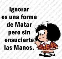 I love Mafalda Quotes To Live By, Me Quotes, Funny Quotes, Frida Quotes, Mafalda Quotes, Quotes En Espanol, Spanish Quotes, Sentences, Wise Words