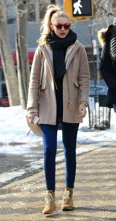 coat gigi hadid winter coat