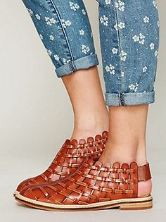 Faryl Robin for Free People Coastal Woven Sandal at Free People Clothing Boutique Pretty Shoes, Beautiful Shoes, Cute Shoes, Me Too Shoes, Zapatos Shoes, Shoes Sandals, Heels, Quoi Porter, Summer Shoes