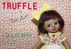 Nikki Britts Truffle, released for pre-order 7-11-14  (Outfits by Sweet Creations!)