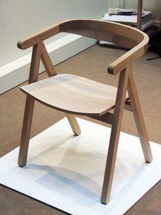 Salone Milan Good Woodwork by Rui Alves - Chair Design Wooden, Design Furniture, Wood Design, Wood Furniture, Modern Furniture, Dinning Chairs, Target Home Decor, Furniture Manufacturers, Home Office