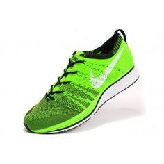 sports shoes 32017 e4412 Nike Flyknit Trainer+ Unisex Grønn Svart   Nike billige sko   kjøp Nike sko  på nett   Nike online sko   ovostore.com
