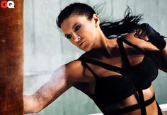 Gina Carano: Proof that women can be just as strong as men! The most bad ass pic of Gina Carano!!!!