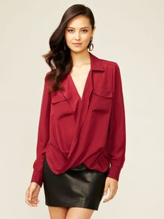 Essentials: The Statement Blouse at Gilt