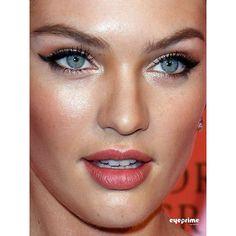 Candice Swanepoel makeup look. #VictoriasSecret #supermodel #beauty #style #fashion