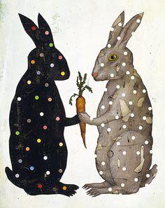 ♞ Artful Animals ♞ bird, dog, cat, fish, bunny and animal paintings - Jason Holley